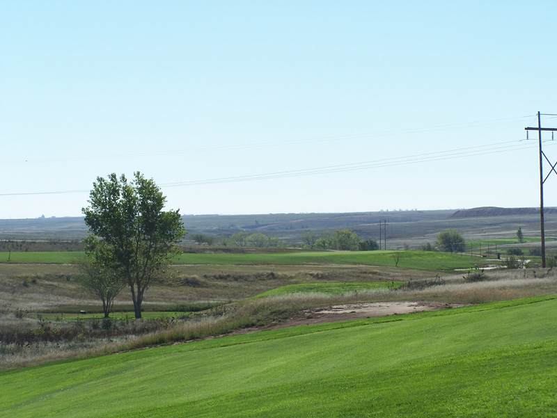 View of the course at Hidden Hills Golf Club
